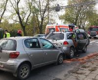 AKTUALIZACJA / KRAKOWSKA: Dwie kolizje w jednym czasie! Kierowcy uważajcie! (ZDJĘCIA)