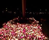 DZIEŃ WSZYSTKICH ŚWIĘTYCH: Modlitwa i pamięć wyrażone tysiącami lampek (FILM, ZDJĘCIA)