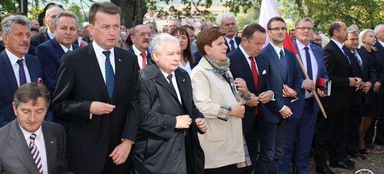 Jarosław Kaczyński w Strachocinie. Msza św. za ojczyznę (VIDEO, FOTO)
