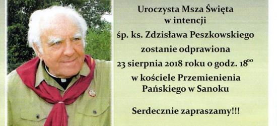 DZISIAJ: Setna rocznicy urodzin ks. Zdzisława Peszkowskiego (PROGRAM)