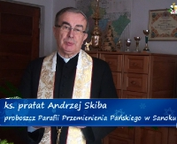 Życzenia bożonarodzeniowe ks. prałata Andrzeja Skiby (FILM)