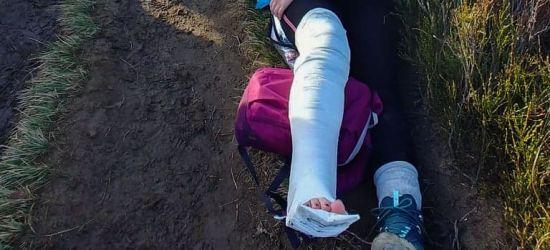 Wypadki w górach. Dwie osoby z urazami (FOTO)