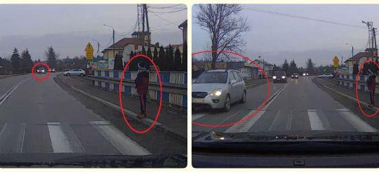 """Sytuacja na przejściu dla pieszych: """"To jest przerażające""""!  (VIDEO)"""