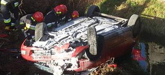 Groźny wypadek w Bieszczadach. Ranny przetransportowany śmigłowcem (ZDJĘCIA)
