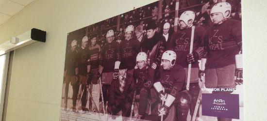 Historia sanockiego hokeja na ścianach Areny. Wyjątkowa kolekcja (ZDJĘCIA)