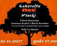 """MDK zaprasza na """"Kameralne wtorki"""". Na początek koncert duetu gitarowego"""