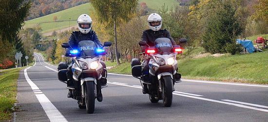 Prędkość i alkohol. Policjanci podsumowują weekend na bieszczadzkich drogach