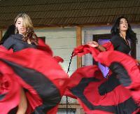 SANOK: Barwny korowód i muzyczno-taneczna uczta z karpackim klimatem w roli głównej (ZDJĘCIA)