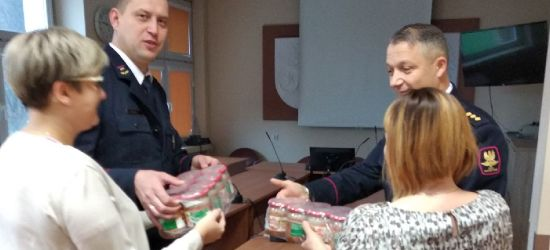Dary żywnościowe od SOK dla potrzebujących z gminy Sanok (FOTO)