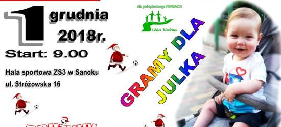 UDOSTĘPNIJ: Turniej piłkarski dla Julka! Warto pomagać!