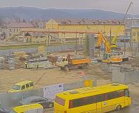 DWORZEC SANOK: 15 godzin w 2 minuty. Timelapse z budowy dworca. Zobacz kolejny dzień (VIDEO HD)