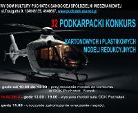 ODK Puchatek zaprasza do udziału w 32 Podkarpackim Konkursie Kartonowych i Plastikowych Modeli Redukcyjnych