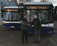 """AUTOSAN: Dwa """"boćki"""" na ulicach Krakowa. Największa firma transportowa w Polsce kupiła autobusy z sanockiej fabryki (ZDJĘCIA)"""