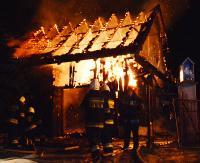 Spłonęły konie. Palił się budynek mieszkalno-gospodarczy(ZDJĘCIA)
