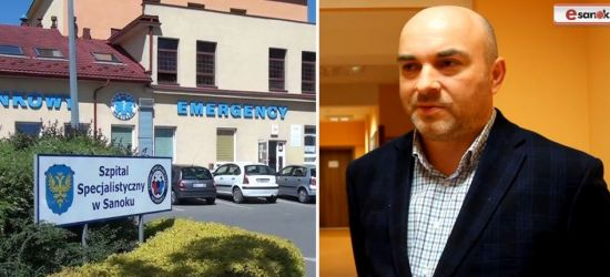 Grzegorz Panek nowym dyrektorem sanockiego szpitala!