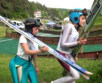 ZAGÓRZ: Młodzi skoczkowie walczyli o Puchar Burmistrza Zagórza (FILM)