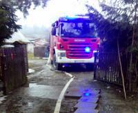 Strażaków wezwano do pożaru domu. Palił się komin (ZDJĘCIA)
