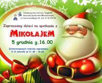 ODK Gagatek zaprasza na spotkanie z Mikołajem