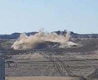 Potężny wybuch na placu budowy obwodnicy Sanoka. Zobacz nagranie video! (FILM)