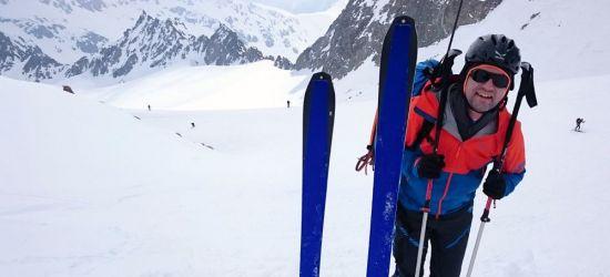 Bieszczadzcy goprowcy na skiturowym przejściu w Alpach (FOTO)
