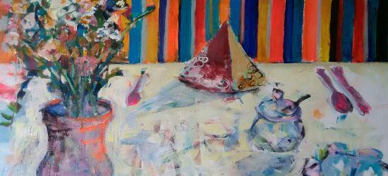 PUCHATEK: Wernisaż malarstwa Elżbiety Wesołkin