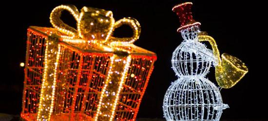 Efektowne, świąteczne oświetlenie w Rymanowie-Zdroju. Zobacz! (ZDJĘCIA)
