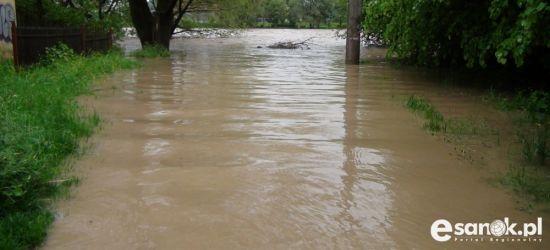 Spodziewane wzrosty poziomu wody m.in. Sanu