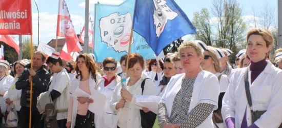 """Dzisiaj w Rzeszowie """"Wielka Manifestacja"""" pielęgniarek!"""