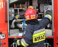 KRONIKA STRAŻACKA: Pożar w piwnicy, śmiertelne potrącenie pieszego i zabezpieczenie meczu piłkarskiego