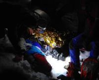 BIESZCZADY: Raby odnalazł 21-latka. Chłopak miał objawy hipotermii (ZDJĘCIA)