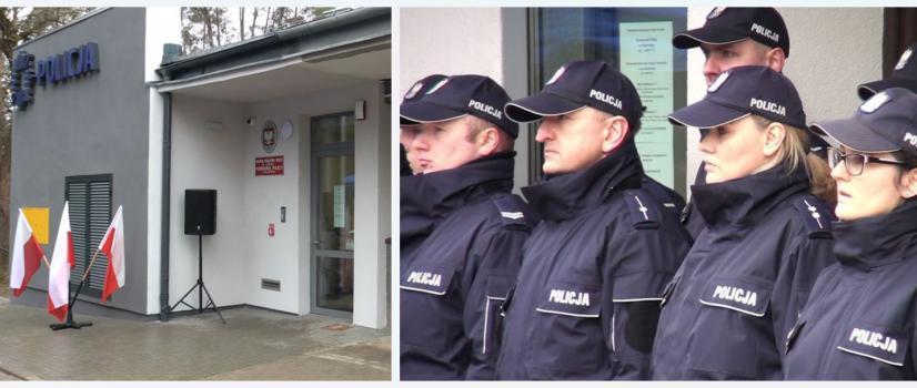 GMINA SOLINA: Nowy  posterunek policji, kilkunastu stróżów prawa (FILM)