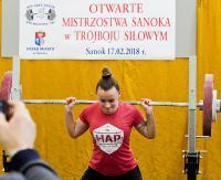 Mistrzostwa Sanoka w trójboju siłowym. Zobacz galerię zdjęć (WYNIKI)