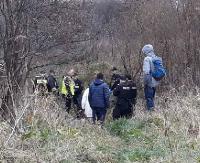 AKTUALIZACJA SANOK: Z potoku przy ulicy Śniegowej wyłowiono ciało mężczyzny (FILM 2, ZDJĘCIA)