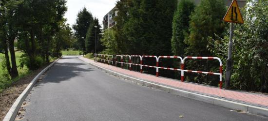 SANOK: Nowa nawierzchnia na ulicy Rzemieślniczej (FOTO)