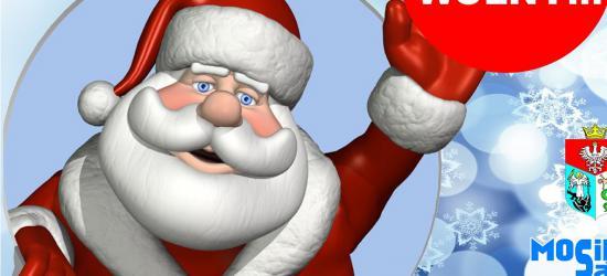 Zabawy dla dzieci, spotkanie ze św. Mikołajem oraz zawody łyżwiarskie. Grudzień w obiektach MOSiR