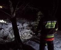 ZAGÓRZ: Strażacy-ochotnicy całą noc monitorowali Osławę (ZDJĘCIA, FILM)