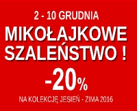 Mikołajkowa promocja od BUCIK24 – na wszystko 20 % zniżki!