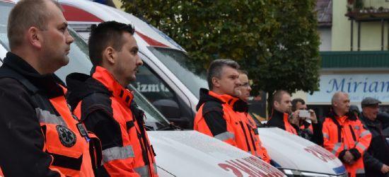 SANOK: Poświęcenie karetek Bieszczadzkiego Pogotowia Ratunkowego (FOTO)