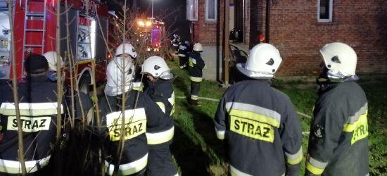 CZASZYN: Wybuch gazu w domu jednorodzinnym! Poparzona osoba (ZDJĘCIA)
