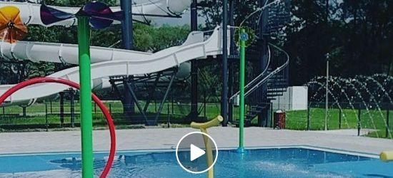 SANOK: Pierwsze próby wodnego placu zabaw! ZOBACZ VIDEO!