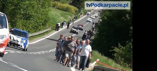 POLICJA INFORMUJE: 41. Bieszczadzki Wyścig Górski – utrudnienia w ruchu (VIDEO)