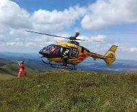 BIESZCZADY: 14-latek ukąszony przez żmiję. Akcja goprowców i Lotniczego Pogotowia Ratunkowego