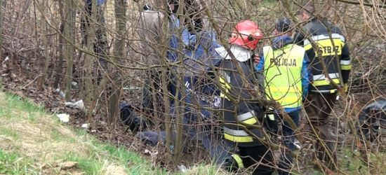 PODKARPACIE: Zwłoki 38-latka znalezione w potoku