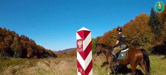 BIESZCZADY: Pogranicznicy 20 lat w konnej służbie (FILM)