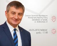 Spotkanie z Marszałkiem Sejmu RP Markiem Kuchcińskim w Sanoku