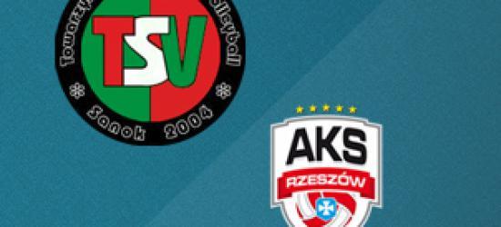 Sobotnie popołudnie z siatkówką! TSV Sanok podejmie AKS V LO Rzeszów (TRANSMISJA NA ŻYWO)