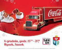 Jesteście gotowi? Dzisiaj Sanok odwiedzi świąteczna ciężarówka Coca-Cola!