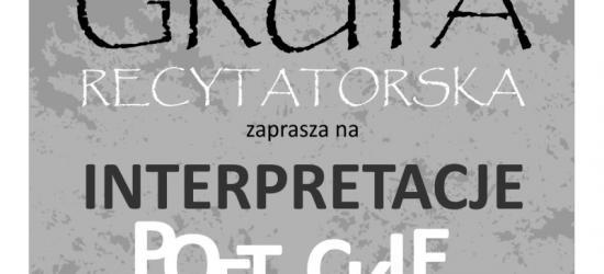 Wieczory Artystyczne w SDK. Już jutro Grupa Recytatorska i interpretacje poetyckie