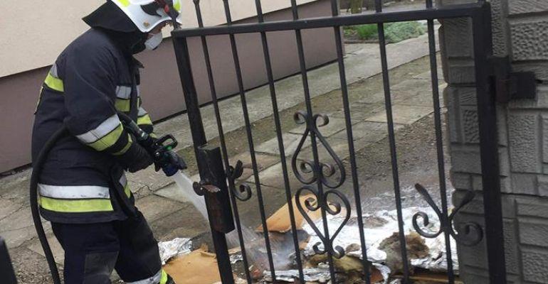ZAGÓRZ: Pożar od kominka w jednym z mieszkań (FOTO)