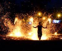 Połykacze ognia, folkowe granie i chillout w rytmie reggae. Wspomnienie Dni Gminy Besko (FILM, ZDJĘCIA)